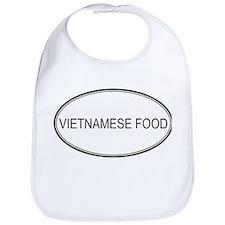 VIETNAMESE FOOD (oval) Bib