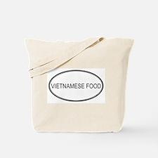 VIETNAMESE FOOD (oval) Tote Bag