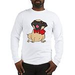 Pug with a bow Long Sleeve T-Shirt