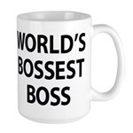 World's Bossest Boss Mugs