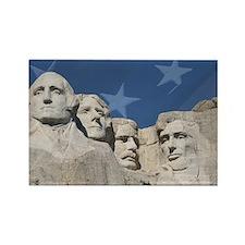 Patriotic Mt. Rushmore Magnets