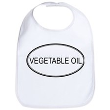 VEGETABLE OIL (oval) Bib