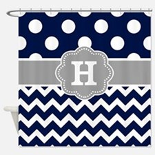 Navy Blue Shower Curtains Navy Blue Fabric Shower Curtain Liner