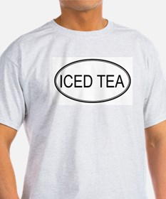 ICED TEA (oval) T-Shirt
