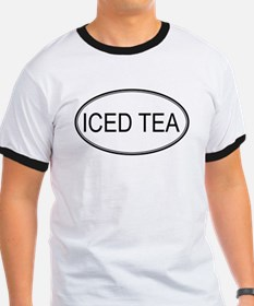 ICED TEA (oval) T