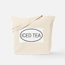 ICED TEA (oval) Tote Bag
