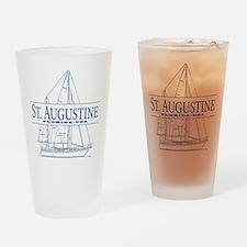 St. Augustine - Drinking Glass