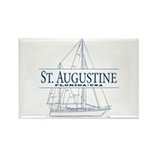 St. Augustine - Rectangle Magnet