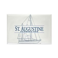 St. Augustine - Rectangle Magnet (10 pack)
