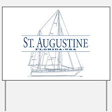 St. Augustine - Yard Sign