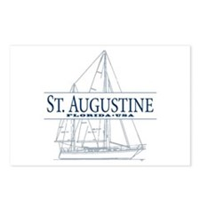 St. Augustine - Postcards (Package of 8)