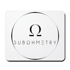 SUBOHMETRY WATERMARK Mousepad
