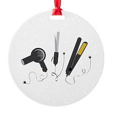 Hair Stylist Tools Ornament