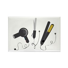 Hair Stylist Tools Magnets