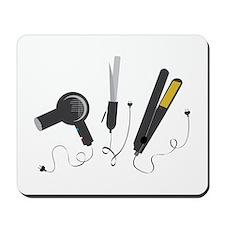 Hair Stylist Tools Mousepad