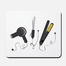 Hair Stylist Tools Mousepad