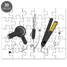 Hair Stylist Tools Puzzle
