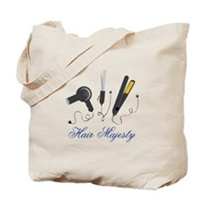 Hair Majesty Tote Bag
