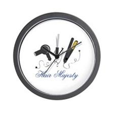 Hair Majesty Wall Clock