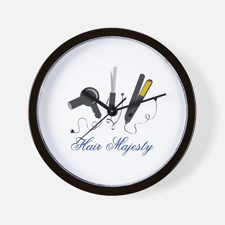 Hair Majesty Wall Clock