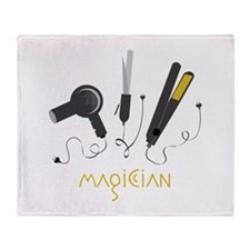 Magician Throw Blanket
