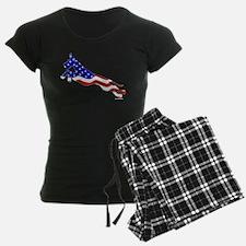 Great Dane Jumper Flag Pajamas