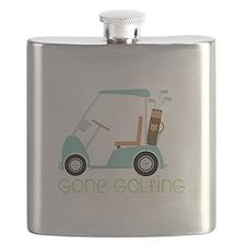 Gone Golfing Flask