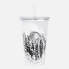 Unique Half dome Acrylic Double-wall Tumbler