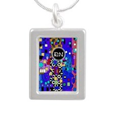 Registered Nurse Abstract Necklaces