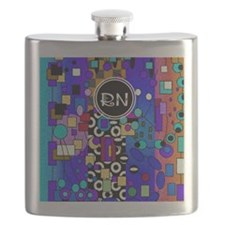 Registered Nurse Abstract Flask