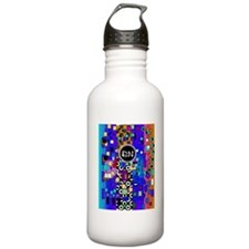 Registered Nurse Abstract Water Bottle