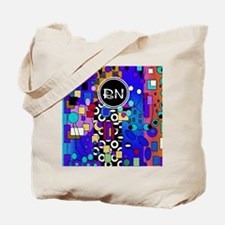 Registered Nurse Abstract Tote Bag