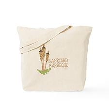 Backyard Barbeque Tote Bag