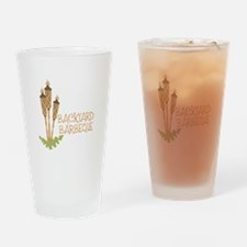 Backyard Barbeque Drinking Glass