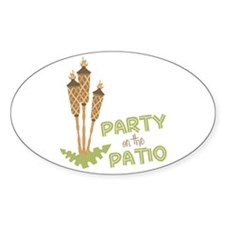 Party On The Patio Decal