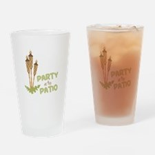 Party On The Patio Drinking Glass