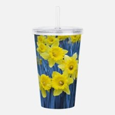 Daffodil Invasion Acrylic Double-wall Tumbler