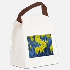 Daffodil Invasion Canvas Lunch Bag