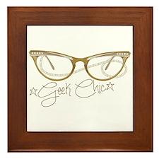 Geek Chic Framed Tile