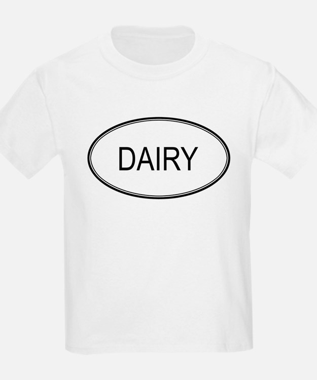 DAIRY (oval) T-Shirt