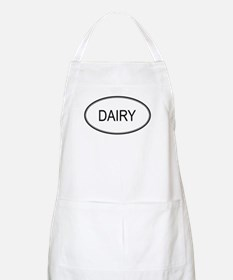 DAIRY (oval) BBQ Apron
