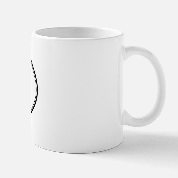 DAIRY (oval) Small Small Mug