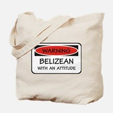 Attitude Belizean Tote Bag