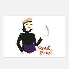 Beat Poet Postcards (Package of 8)