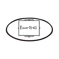 Know-it-all Patches