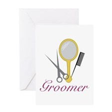 Groomer Greeting Cards