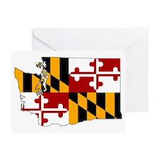 Marylander Washingtonian Greeting Card