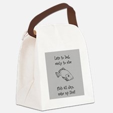Fish All Day!! Canvas Lunch Bag