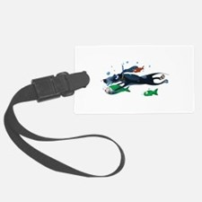 Pisces Dog Luggage Tag