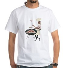 Retro Chef and Grill Vintage Poster T-Shirt